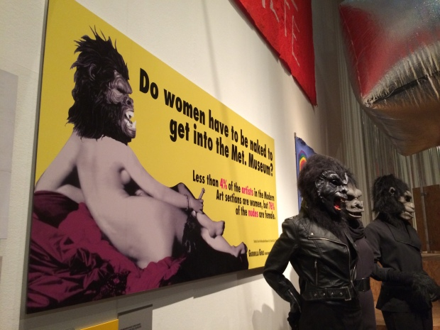 Guerilla Girls protest at the Met Museum