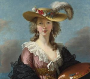 Elisabeth Vigee Le Brun, Self Portrait in a Straw Hat, 1782