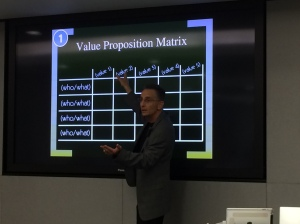 Value Proposition Matrix from Nathan Gold