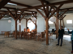 The loft in Oslo where we're holding Noddlepod's 3 Sept event