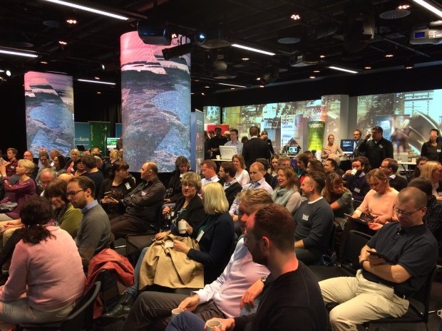 Our fully engaged REN Norge Showday audience