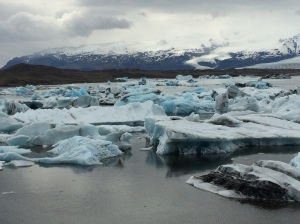 Icebergs at Jokulsarlon