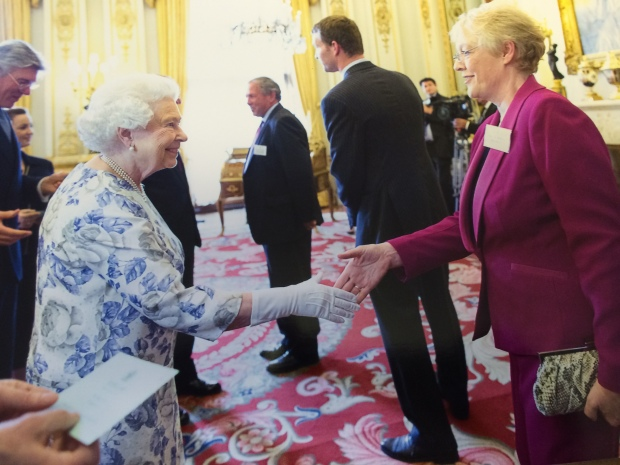 Meeting Her Majesty the Queen in Buckingham Palace June 2014