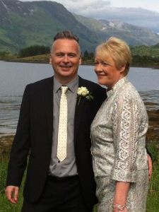Our wedding, July 2014 photograph taken in Glencoe